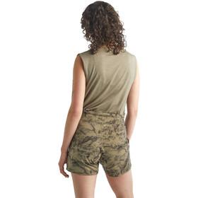 Icebreaker Utility Explr Shorts Women, olijf